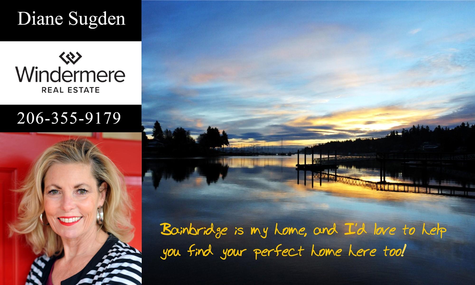 Diane Sugden Windermere Real Estate ad